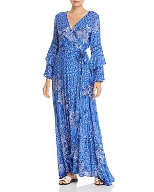 Poupette St. Barth Elise Layered Maxi Dress