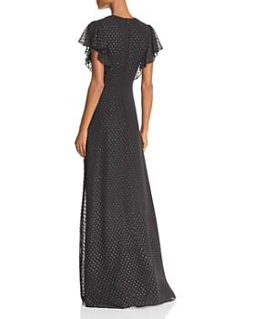 Jill Jill Stuart - Metallic Tulle Gown