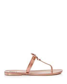 Tory Burch - Mini Miller Jelly Flat Thong Sandals