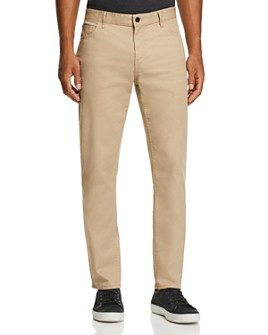 Michael Kors - Parker Five-Pocket Stretch Straight Fit Pants