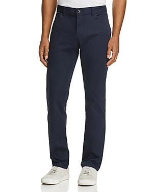 Michael Kors Parker Five-Pocket Stretch Straight Fit Pants