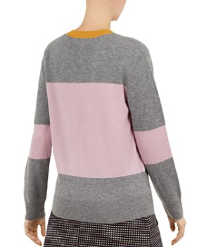 Ted Baker - Colour by Numbers Bryonny Color-Blocked Cashmere Sweater