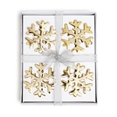 Aman Imports - Snowflake Napkin Rings, Set of 4 - 100% Exclusive