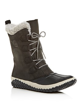 Sorel - Women's Out N About Tall Waterproof Cold-Weather Boots
