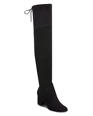 Marc Fisher Women's Pretta Round Toe Tall Suede Boots