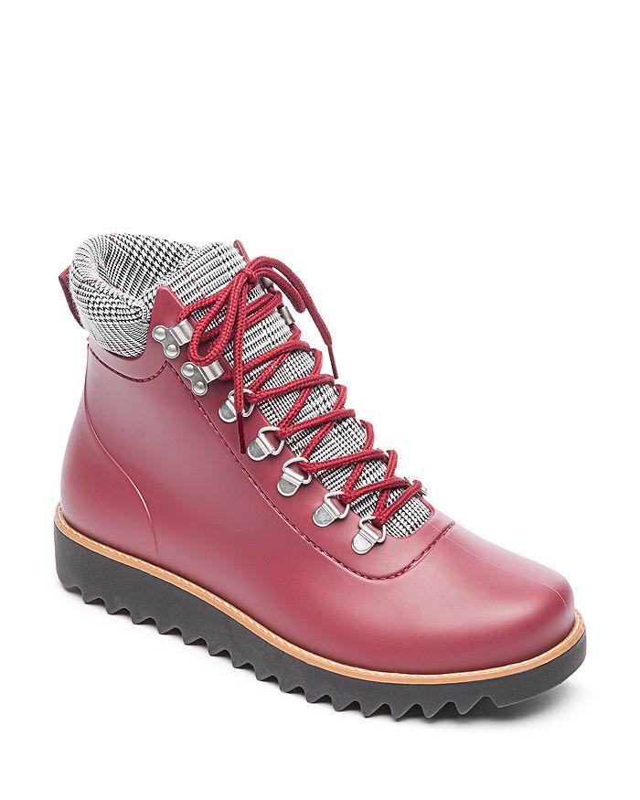 443fda297b06 Bernardo - Winnie Lace-Up Rubber Rain Boots