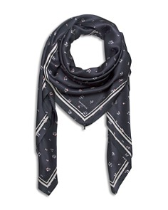 The Kooples - Ditsy Floral Silk Scarf