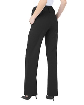 Liverpool - Belted Wide-Leg Pants