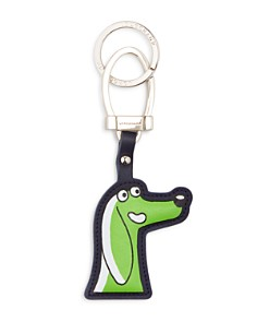 Longchamp - Limited Edition Leather Key Fob