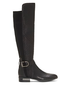 VINCE CAMUTO - Women's Pordalia Quilted Leather Tall Boots
