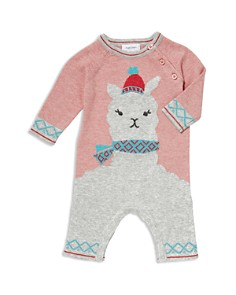 Angel Dear - Girls' Llama Coverall - Baby