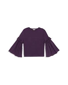 Habitual Kids - Girls' Taylor Flare-Sleeve Knit Top - Little Kid