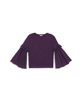 Habitual - Girls' Taylor Flare-Sleeve Knit Top - Little Kid