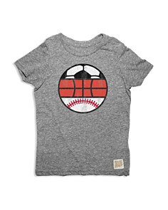 Retro Brand - Boys' Tri Sport Tee - Little Kid, Big Kid