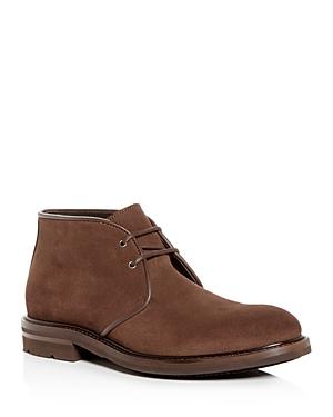 Aquatalia Men\\\'s Rinaldo Weatherproof Suede Chukka Boots