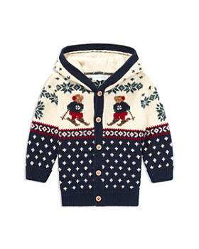 ralph lauren boys ski bear cotton wool cardigan baby - Christmas Jacket