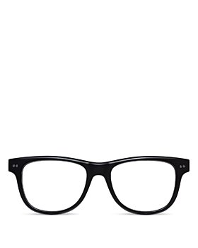 Look Optic - Unisex Sullivan Rectangular Blue Light Glasses, 52mm