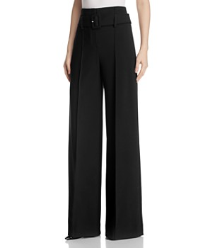 Theory - High-Waist Wide-Leg Pants