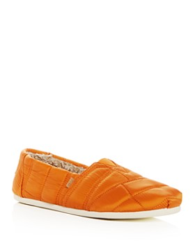 TOMS - Men's Classic Quilted Nylon Slip-Ons