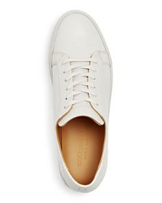 Collegium - Men's Pillar Leather Lace Up Sneakers