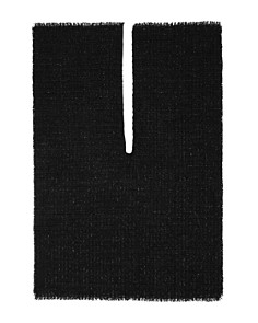 Echo - Metallic Tweed Ruana