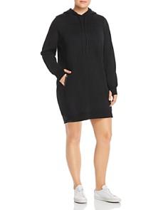 Marc New York Plus - Fabulous Fleece Hoodie Dress