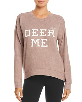 PJ Salvage - Deer Me Long Sleeve Top