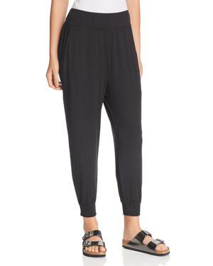 GAIAM X JESSICA BIEL Madison Drop-Crotch Pants in Black