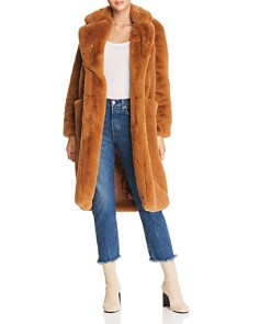 Apparis - Laures Faux-Fur Coat