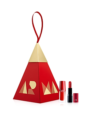 Giorgio Armani RED LIP DUO ORNAMENT SET