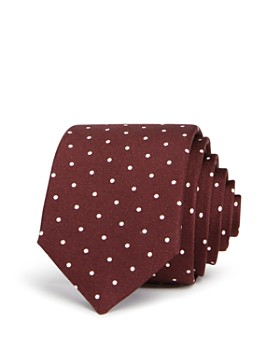 Theory - Roadster Polka-Dot Silk Skinny Tie