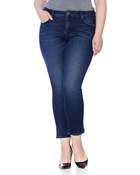 SLINK Jeans Plus - Flared Jeans in Lively