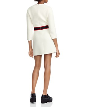 Maje - Rosine Band-Detail Tweed Mini Dress