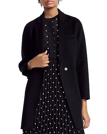 Maje - Galami Single-Snap Coat