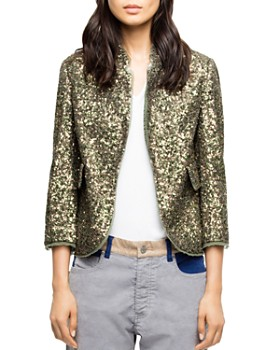 fa6cf01f84 Zadig   Voltaire - Verys Sequined Jacket ...