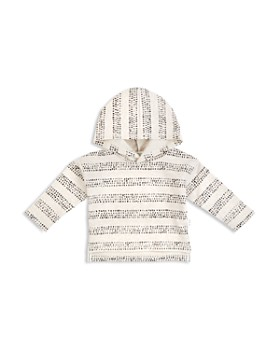 Miles Baby - Girls' Hooded Terry Shirt - Baby