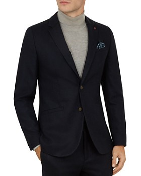 Ted Baker - Matza Core Slim Fit Wool Jacket