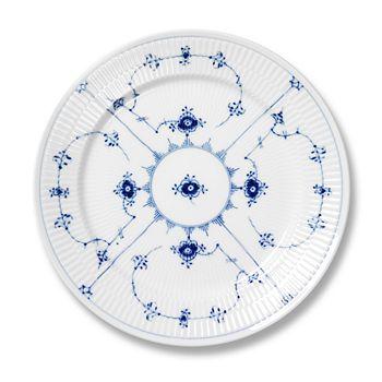 """Royal Copenhagen - """"Blue Fluted Plain"""" Dinner Plate"""