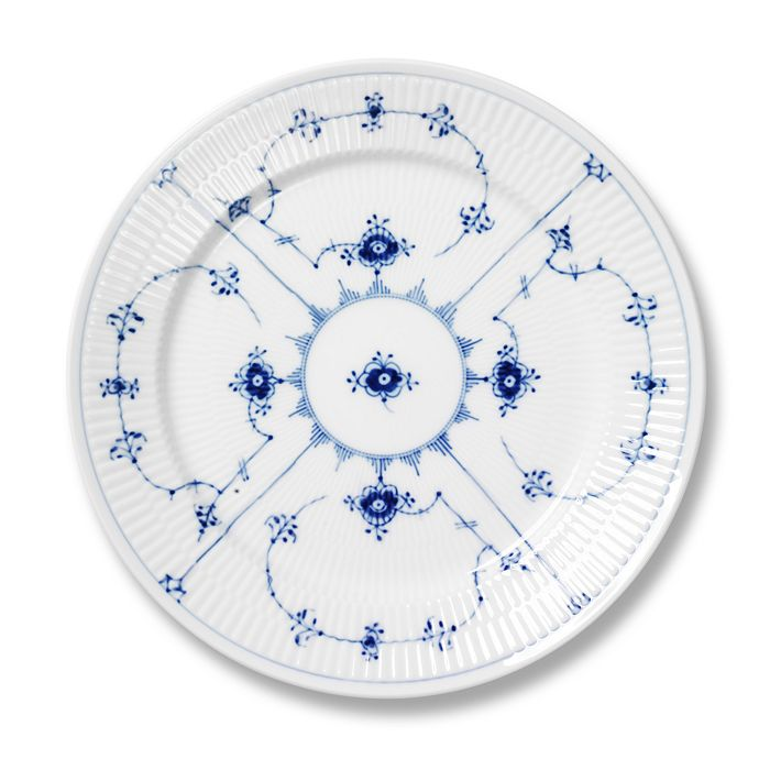 "Royal Copenhagen - ""Blue Fluted Plain"" Dinner Plate"