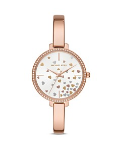 Michael Kors - Jaryn Rose Gold-Tone Watch, 36mm