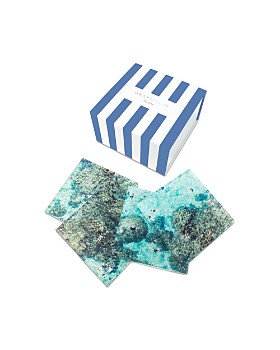Gray Malin - Reef 4-Piece Coaster Set