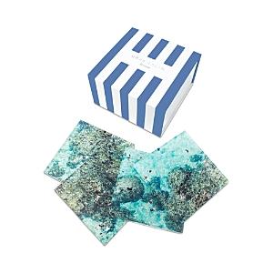 Gray Malin Reef 4-Piece Coaster Set