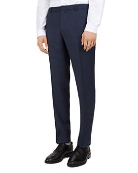 The Kooples - Sea Checks Wool Slim Fit Trousers