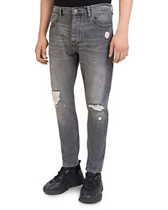 The Kooples - Bootcut Jeans in Black Washed