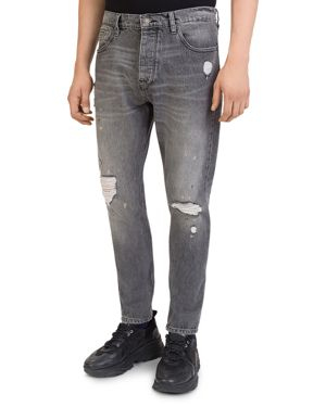 The Kooples Bootcut Jeans in Black Washed