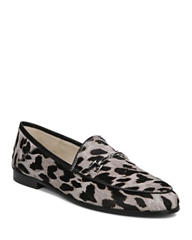 Sam Edelman - Women's Loraine Printed Calf Hair Loafers