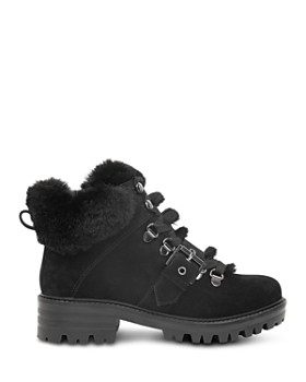 Kendall + Kylie - Women's Edison Round Toe Suede Hiking Boots