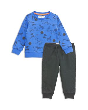 Sovereign Code Boys' Bryson + Lisbon Safari Sweatshirt & Sweatpants Set - Baby