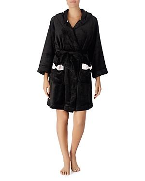 kate spade new york Hooded Fleece Robe