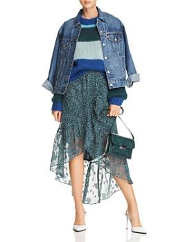 Rebecca Minkoff - Jewel Color-Block Sweater